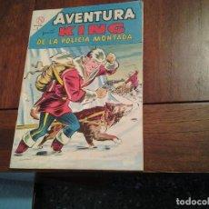 Tebeos: AVENTURA KING DE LA POLICIA MONTADA Nº 328 - NOVARO AÑO 1964 - DIFICIL DE ENCONTRAR EN ESTE ESTADO. Lote 86228660