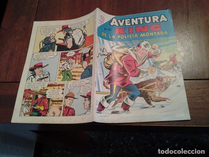Tebeos: AVENTURA KING DE LA POLICIA MONTADA Nº 328 - NOVARO AÑO 1964 - DIFICIL DE ENCONTRAR EN ESTE ESTADO - Foto 4 - 86228660