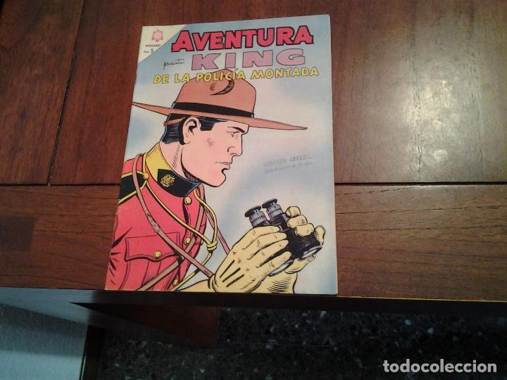 AVENTURA KING DE LA POLICIA MONTADA Nº 347 - NOVARO AÑO 1964 - DIFICIL DE ENCONTRAR EN ESTE ESTADO (Tebeos y Comics - Novaro - Aventura)