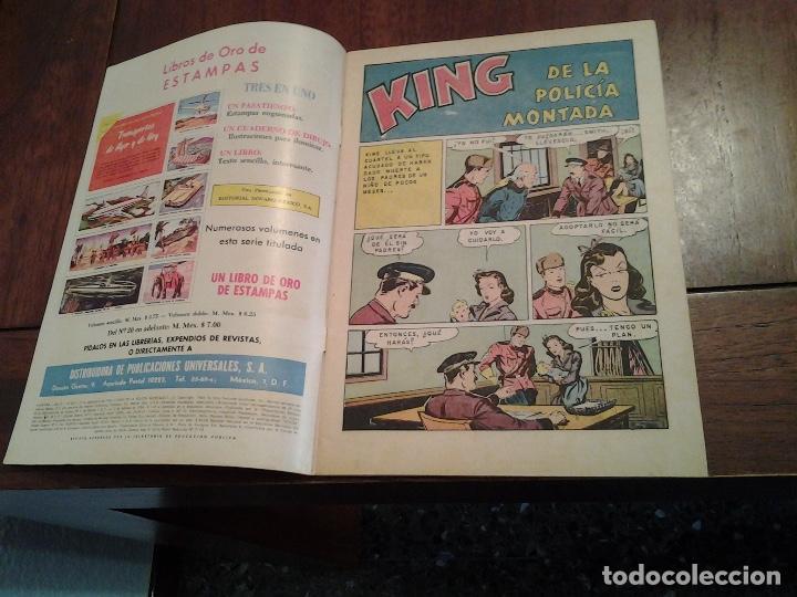 Tebeos: AVENTURA KING DE LA POLICIA MONTADA Nº 347 - NOVARO AÑO 1964 - DIFICIL DE ENCONTRAR EN ESTE ESTADO - Foto 4 - 86229328
