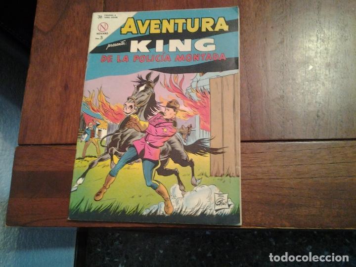 AVENTURA KING DE LA POLICIA MONTADA Nº 321 - NOVARO AÑO 1964 - DIFICIL DE ENCONTRAR EN ESTE ESTADO (Tebeos y Comics - Novaro - Aventura)