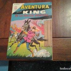 Tebeos: AVENTURA KING DE LA POLICIA MONTADA Nº 321 - NOVARO AÑO 1964 - DIFICIL DE ENCONTRAR EN ESTE ESTADO. Lote 86270504