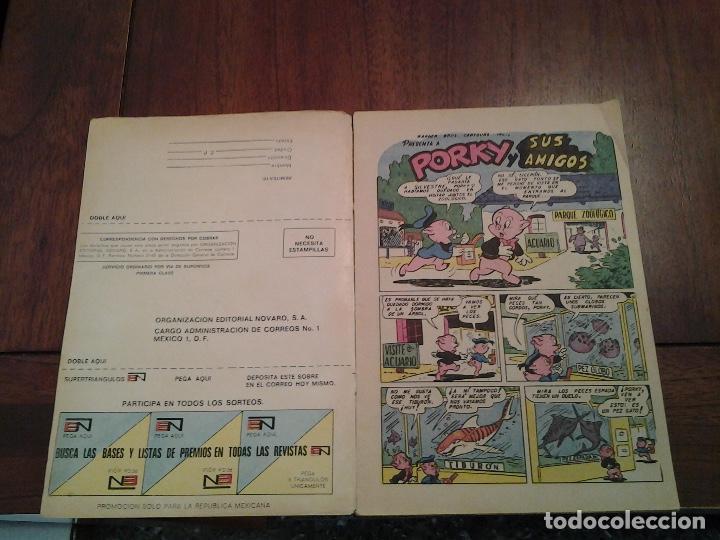 Tebeos: PORKY Y SUS AMIGOS Nº 283 - EDITORIAL NOVARO - AÑO 1972 - Foto 3 - 86383196