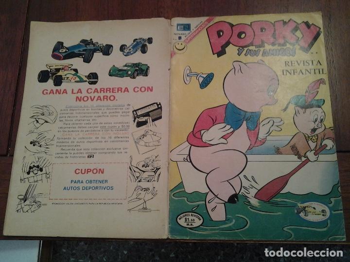 Tebeos: PORKY Y SUS AMIGOS Nº 283 - EDITORIAL NOVARO - AÑO 1972 - Foto 5 - 86383196