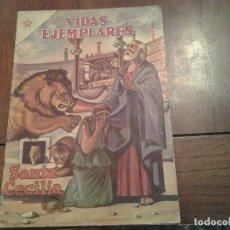 Tebeos: VIDAS EJEMPLARES - SANTA CECILIA Nº 139 - AÑO 1962. Lote 86387660