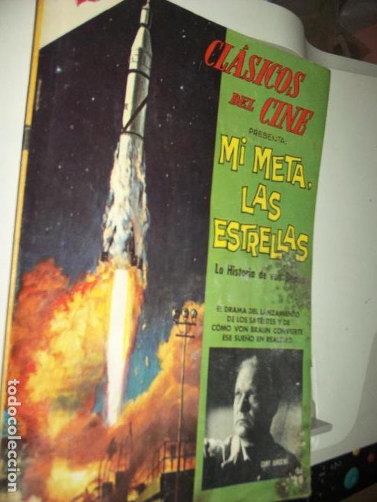 CLASICOS DEL CINE, SU META LAS ESTRELLAS VON BRAWN (Tebeos y Comics - Novaro - Domingos Alegres)