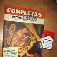Tebeos: PATORUZITO, COMPLETAS HISTORIETAS, CAWBOYS, BELICAS, CIENCIA FECCION. 1966 TYPO COMIC USA.. Lote 86570064