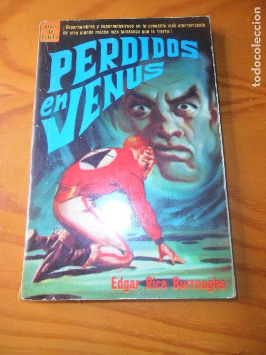 PERDIDOS EN VENUS - EDGAR RICE BURROUGHS - NOVARO, JOYAS DE BOLSILLO 348 DE 1969 NOVELA- (Tebeos y Comics - Novaro - Sci-Fi)