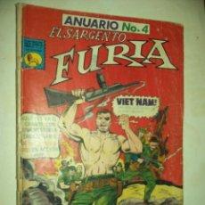 Tebeos: EL SARGENTO FURIA, ANUARIO NUM. 4 1971 -64 PAG.- VIET-NAM. Lote 86937344