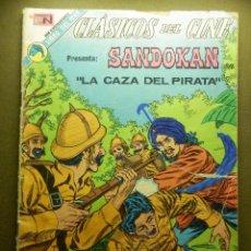 Tebeos: COMIC -TEBEO - CLASICOS DEL CINE - SANDOKAN - LA CAZA DEL PIRATA - NOVARO. Lote 87034472
