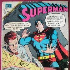 Tebeos: SUPERMAN 'LA PLUMA PROFÉTICA' - ED. NOVARO, Nº 845 - MÉXICO 1972. Lote 87180488