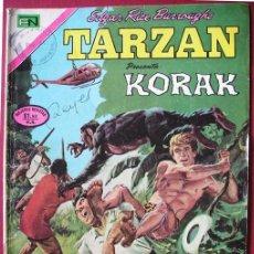 Tebeos: TARZÁN KORAK 'LOS CAZADORES FURTIVOS' ED. NOVARO, Nº 286, MÉXICO 1972. Lote 87180900