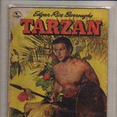 Tebeos: TARZAN NUM. 15 E.M.S.A./ ANTER. SELLO NOVARO 1953 BUEN ESTADO... Lote 87183804