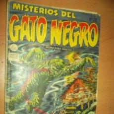 Tebeos: MISTERIOS DEL GATO NEGRO N. 22 1955 LA PRENSA MEXICANA, MEXICO TERROR CC.FF.. Lote 87247416