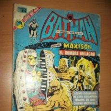 Tebeos: BATMAN N.675 PRES. MAXISOL MR MIRACLE NUM.3 1974 ART, KIRBY NOVARO/DC. Lote 179312727