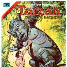 Tebeos: TARZAN DE LOS MONOS. EDGAR RICE BURROUGHS. Nº 394. 18 DE ABRIL DE 1974. Lote 121958251