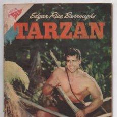 Tebeos: TARZAN # 76 NOVARO 1958 GORDON SCOTT EN TAPA LA HERMANDAD DE LA LANZA BUEN ESTADO. Lote 87453700