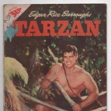 Tebeos: TARZAN # 76 NOVARO 1958 GORDON SCOTT EN TAPA LA HERMANDAD DE LA LANZA BUEN ESTADO. Lote 87453940