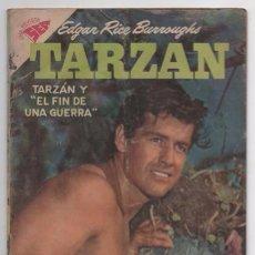Tebeos: TARZAN # 83 NOVARO 1958 GORDON SCOTT EN TAPA LA HERMANDAD DE LA LANZA BUEN ESTADO. Lote 87472736