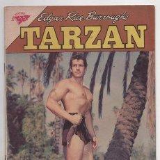Tebeos: TARZAN # 136 NOVARO 1963 GORDON SCOTT EN TAPA DOS CONTRA LA SELVA MUY BUEN ESTADO. Lote 87472932