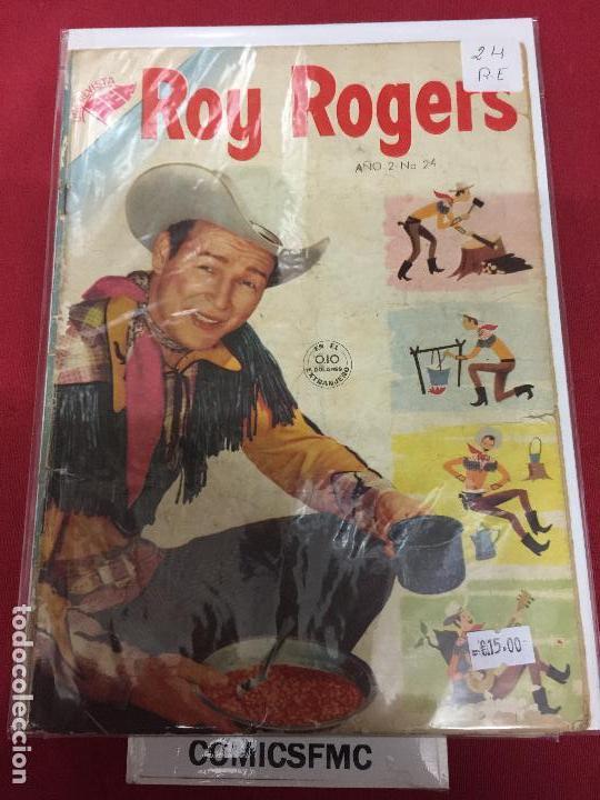 ROY ROGERS NUMERO 24 NORMAL ESTADO REF.11 (Tebeos y Comics - Novaro - Roy Roger)