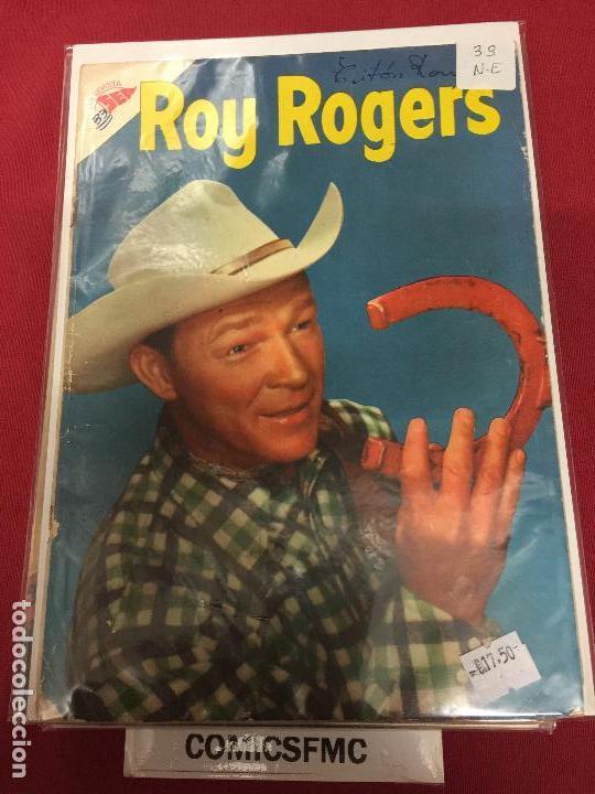 ROY ROGERS NUMERO 33 NORMAL ESTADO REF.11 (Tebeos y Comics - Novaro - Roy Roger)