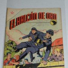 Tebeos: (M7) EL HALCON DE ORO NUM 1 - EDT NOVARO 1958 , SEÑALES DE USO. Lote 87516204