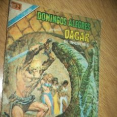 Tebeos: DOMINGOS ALEGRES N.1376 -1980-DAGAR EL INVENCIBLE- NOVARO.1981. Lote 87583676