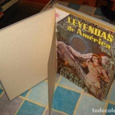 Tebeos: LEYENDAS DE AMÉRICA 49, 50, 52, 53, 54, 55, NOVARO, 1960, MUY BUEN ESTADO.. Lote 87605620