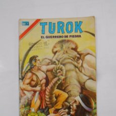 Tebeos: TUROK. EL GUERRERO DE PIEDRA. AÑO VIII. Nº 2-140. 3 DE JULIO 1977. SERIE AGUILA. ED NOVARO. TDKC9. Lote 87751616