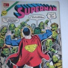 Tebeos: SUPERMAN NOVARO MÉXICO Nº 882, EL ENEMIGO DE LA TIERRA, 1972, BUEN ESTADO. Lote 87990976