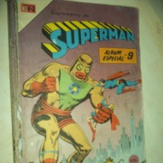 Tebeos: SUPERMAN EXTRA ALBUM AGME/NOVARO N9 1968- 6 COMICS 1967/68 VER FOTOS JOYITA. Lote 88188928