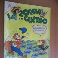 Tebeos: LA ZORRA Y EL CUERVO N.52 1956 ER. NOVARO. Lote 88194300