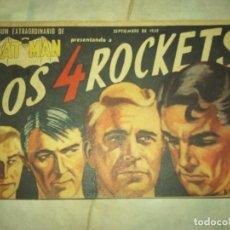 Tebeos: BATMAN EXTRA 1958 LOS 4 COHETES J.KIRBY TYP. NOVARO/DC B/N MUCHNIK EDICION ARGENTINA.... Lote 88212644