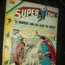Tebeos: SUPERCOMIC N.39 SUPERMAN - SUPERMAN Y SUS OJOS DE HIELO- NOVARO. Lote 88371300