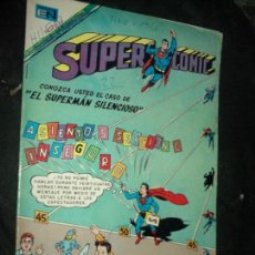 Tebeos: SUPERCOMIC N.22 SUPERMAN - EL SUPERMAN SILENCIOSO- NOVARO. Lote 88371820