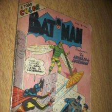 Tebeos: BATMAN N, 67 -LA AMENAZA DE LUCIERNAGA- EDITOR MUCHNIK ARGENTINA COLOR. Lote 89459456