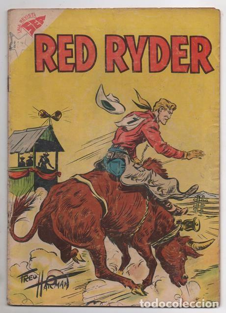 RED RYDER # 41 NOVARO 1958 POR FRED HARMAN CASTORCITO TILA & LA DUQUESA BUEN ESTADO 32 PAG (Tebeos y Comics - Novaro - Red Ryder)