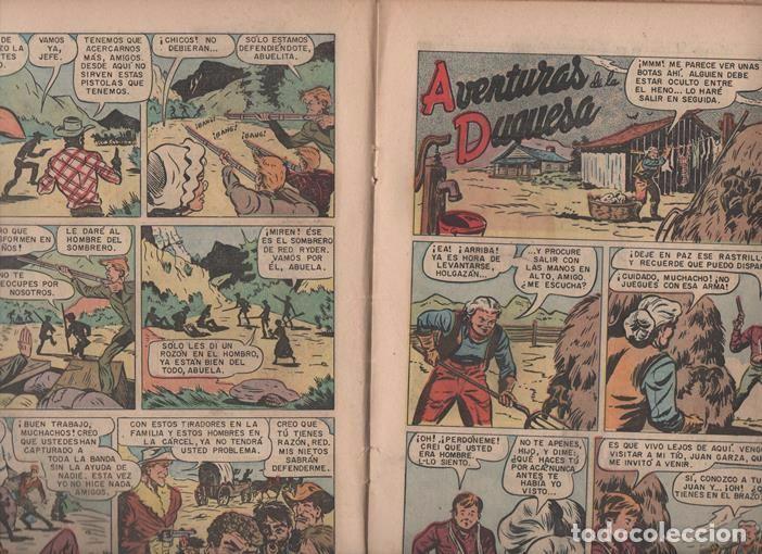 Tebeos: RED RYDER # 41 NOVARO 1958 POR FRED HARMAN CASTORCITO TILA & LA DUQUESA BUEN ESTADO 32 PAG - Foto 3 - 89466464