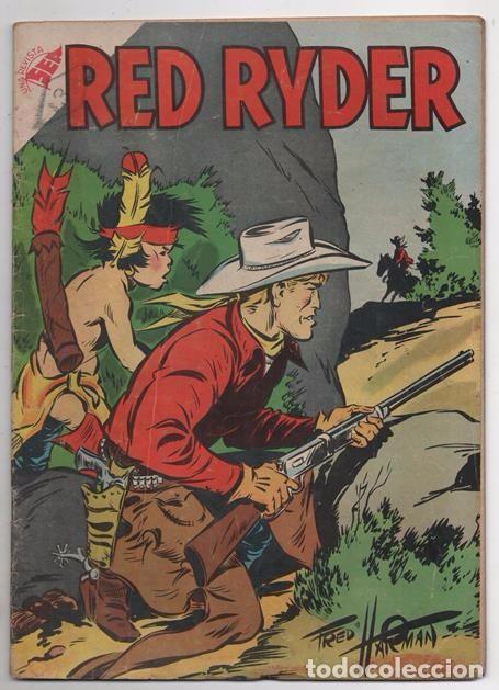 RED RYDER # 42 NOVARO 1958 POR FRED HARMAN CASTORCITO TILA & LA DUQUESA EXCELENTE 32 PAG (Tebeos y Comics - Novaro - Red Ryder)