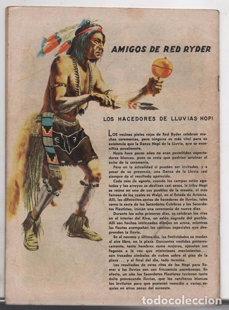 Tebeos: RED RYDER # 42 NOVARO 1958 POR FRED HARMAN CASTORCITO TILA & LA DUQUESA EXCELENTE 32 PAG - Foto 2 - 89466536
