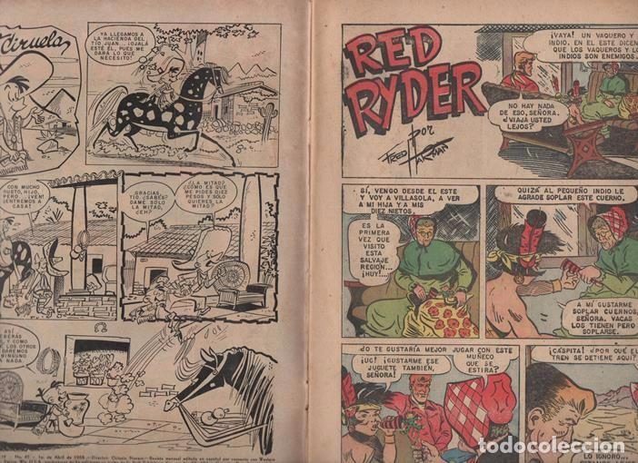 Tebeos: RED RYDER # 42 NOVARO 1958 POR FRED HARMAN CASTORCITO TILA & LA DUQUESA EXCELENTE 32 PAG - Foto 3 - 89466536