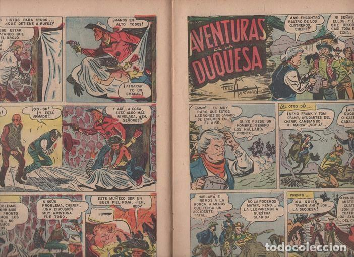 Tebeos: RED RYDER # 42 NOVARO 1958 POR FRED HARMAN CASTORCITO TILA & LA DUQUESA EXCELENTE 32 PAG - Foto 4 - 89466536