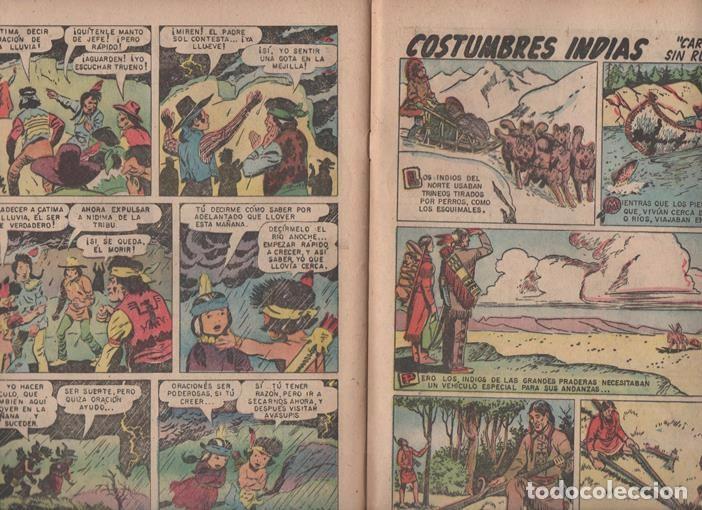 Tebeos: RED RYDER # 42 NOVARO 1958 POR FRED HARMAN CASTORCITO TILA & LA DUQUESA EXCELENTE 32 PAG - Foto 6 - 89466536