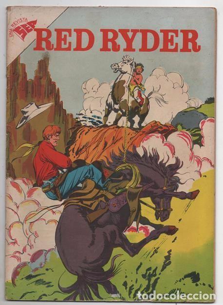RED RYDER # 43 NOVARO 1958 POR FRED HARMAN CASTORCITO & TILA LA DUQUESA EXCELENTE 32 PAG (Tebeos y Comics - Novaro - Red Ryder)