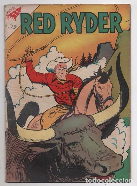 RED RYDER # 46 NOVARO 1958 POR FRED HARMAN CASTORCITO TILA & LA DUQUESA MUY BUEN ESTADO 32 PAG (Tebeos y Comics - Novaro - Red Ryder)