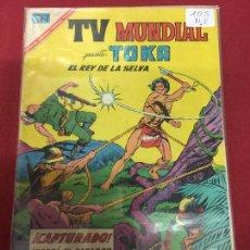 Tebeos: NOVARO TV MUNDIAL NUMERO 105 BUEN ESTADO C6. Lote 89596912
