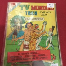 Tebeos: NOVARO TV MUNDIAL NUMERO 118 BUEN ESTADO C6. Lote 89597140