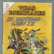 Tebeos: VIDAS EJEMPLARES 214: SU SANTIDAD LEÓN IX, 1966, NOVARO, MUY BUEN ESTADO. Lote 89851168