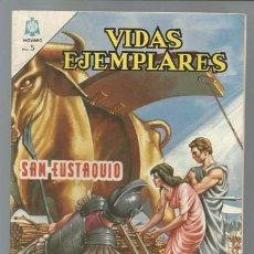 Tebeos: VIDAS EJEMPLARES 191: SAN EUSTAQUIO, 1965, NOVARO, MUY BUEN ESTADO. Lote 89851456